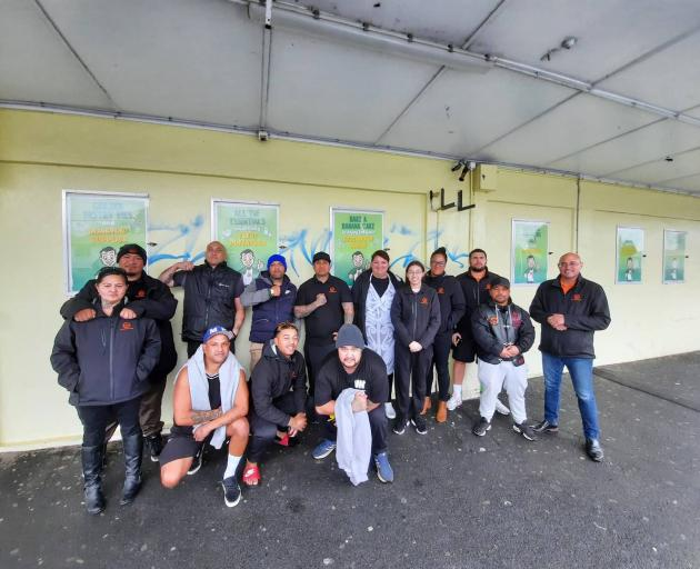 Waiariki Whānau Mentoring worked with Black Power, Filthy Few and Mongrel Mob members to give out...