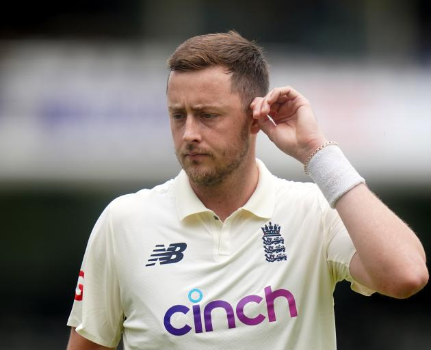 English cricketer Ollie Robinson. Photo: Getty Images