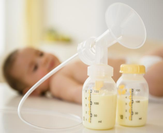 Human breast milk and breast-feeding are so incredibly special. PHOTO: GETTY IMAGES