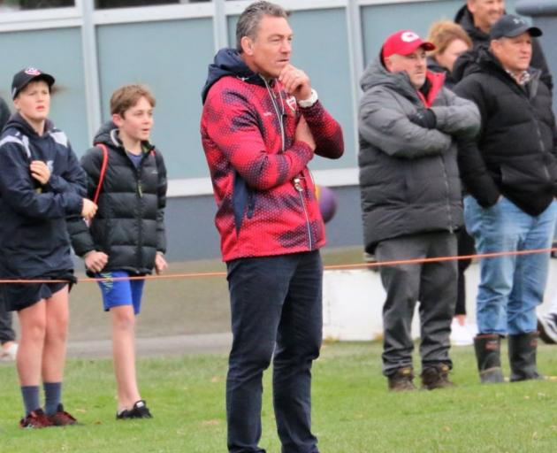 Mark Hammett watches the clash between St Andrew's College and St Thomas of Canterbury College...