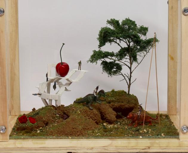 Diorama by Jerry Howlett. PHOTOS: SUPPLIED