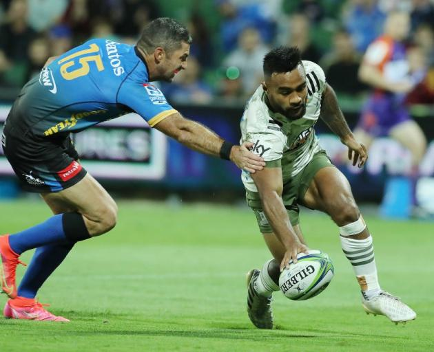 Jona Nareki has been included in the Highlanders line-up for the Super Rugby Trans Tasman final....