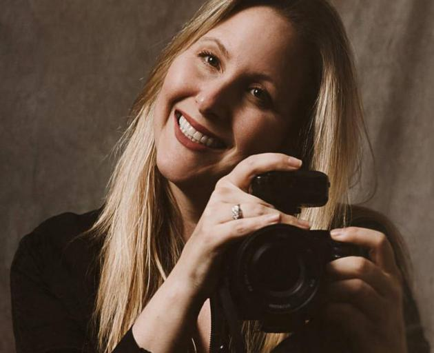 Photographer Rachel Jordan was injured in a helicopter crash in Canterbury on Saturday. Photo:...