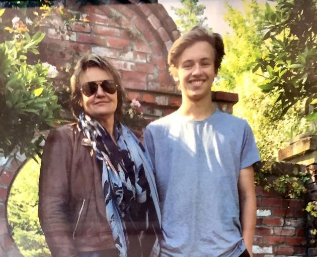 Louisa Patterson with son James Patterson Gardner. Photo: Supplied