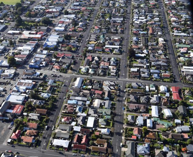 Housing costs now take up about a fifth of household income in Otago. Photo: Stephen Jaquiery