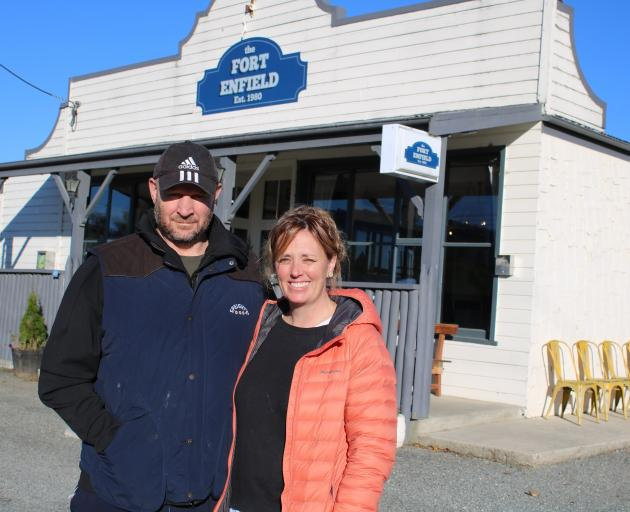 The Fort owners Johnny and Amber Rogers have created a community hub since taking over the...