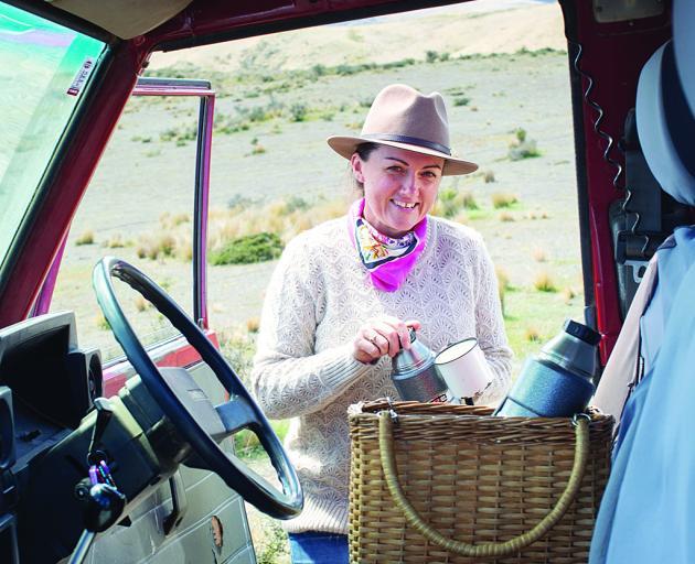 Philippa 'Pip' Cameron lives on high-country farm Otematata Station. PHOTOS:  LOTTIE HEDLEY