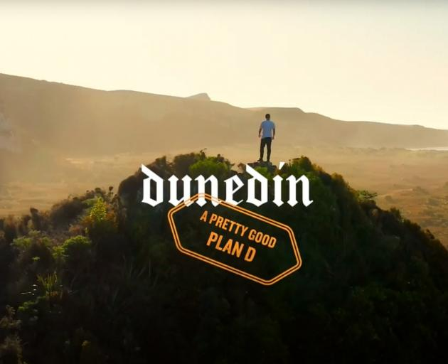 An image from Dunedin's new marketing campaign. IMAGE: SUPPLIED