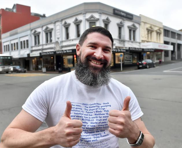 Woof! bar co-director Dudley Benson has asked the Dunedin City Council to install a rainbow...