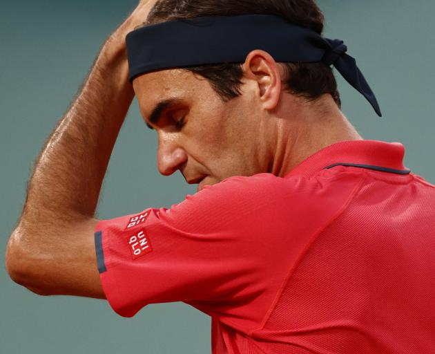 Roger Federer has hardly played in the last 17 months due to a knee injury and suffered...