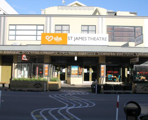 Gore's St James Theatre is struggling to meet the cost of a $1,290,000 upgrade project. PHOTO:...