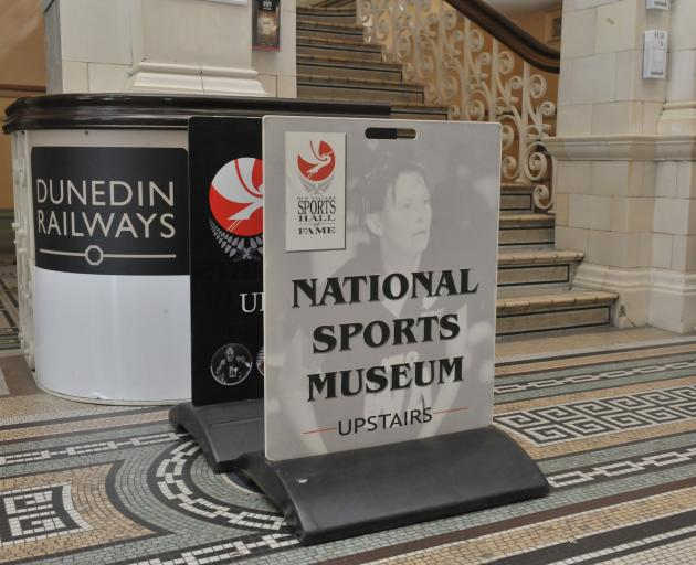 The New Zealand Sports Hall of Fame. PHOTO: GREGOR RICHARDSON
