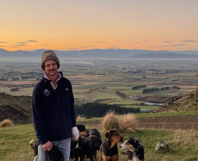 Luke Knowles, a shepherd on Glen Islay Station, near Clinton, is raising money for the Will To ...