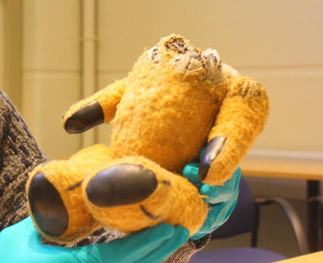 Little Ted's body is in the keeping of Toitu Otago Settler's Museum along with the other soft toy members of the Play School cast. Photo:  File