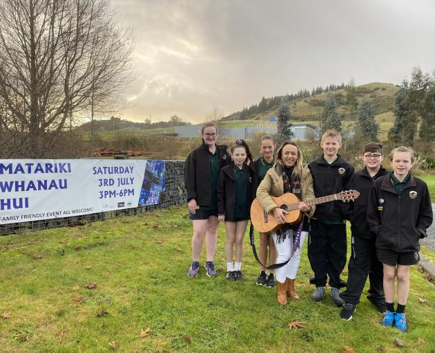 Members of Green Island School's Te Kura o Okaihae senior kapa haka group are looking forward to...
