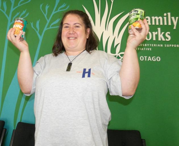 Octacan volunteer Sharna Milner, of Wakari, is celebrating 10 years of collecting cans.PHOTO:...