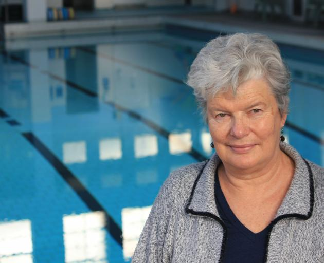 Dunedin Physio pool supervisor Gaye Davies is keeping a close eye on the future of the facility,...