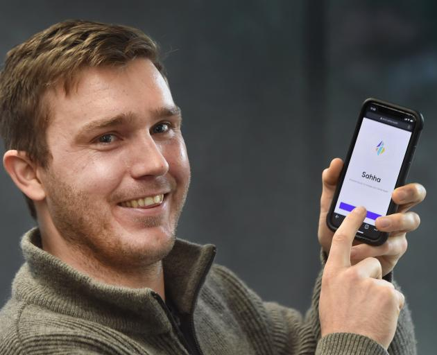 Sahha co-founder Aleks Dahlberg has secured funding for his mental health app from a...