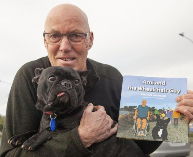 Michael Franklin was inspired to write the children's book based on his friendship with Arni....