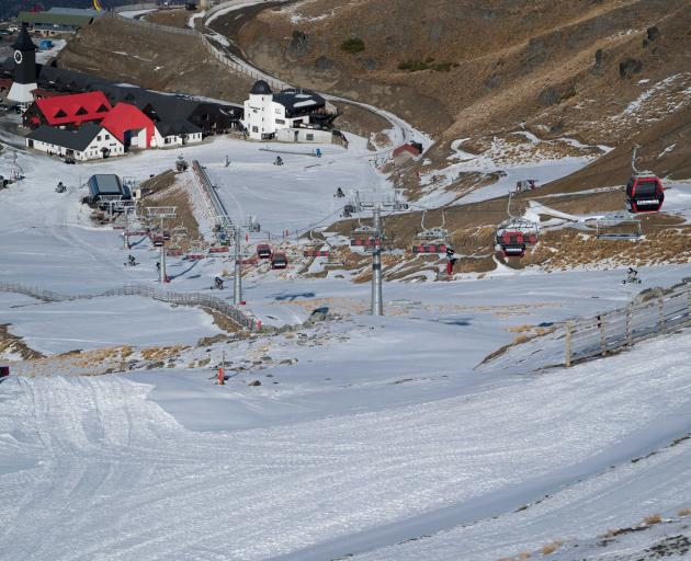 Cardrona Alpine Resort will open this weekend but not for winter sports because there has not...