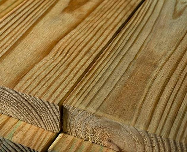 People who come into contact with treated timber are advised to wear gloves when handling the...