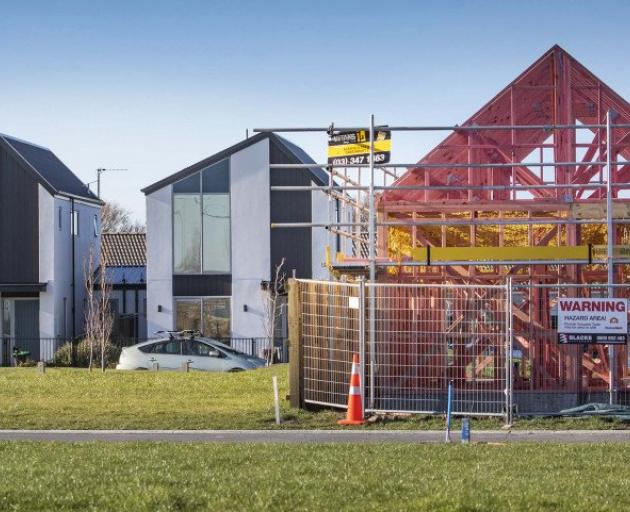 Christchurch has gained 2792 new dwellings over the past 12 months. Photo: Newsline / CCC