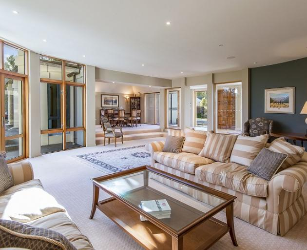 A four-bedroom home in Fendalton sold for $2.4m under the hammer, above its $1.785m CV. Photo:...