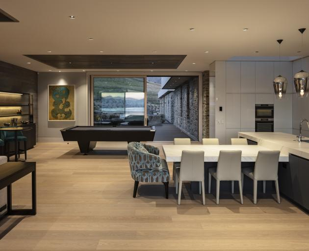 The House of the Year judges described the interior materials as discreet and understated.