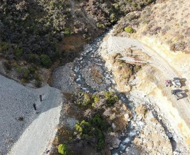 Mt Olympus faced $50000 of repair works after the Canterbury floods. Photo / Supplied