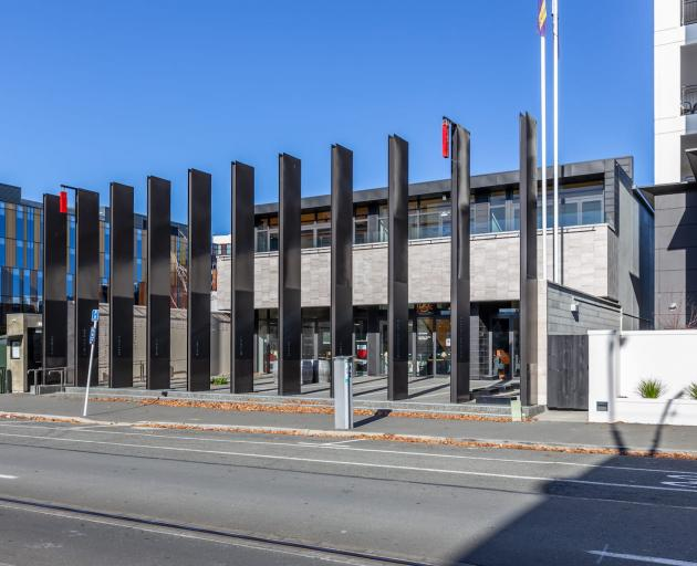 The Christchurch Memorial RSA building has now been sold. Photo: Colliers