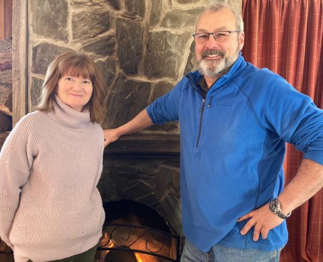 Royal Hotel Naseby publicans Jan Rutherford and Adrian Hood  are pleased a cafe has opened again.