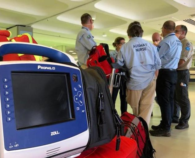 The medical team of experts from Australia and New Zealand arriving in Fiji to help with the...