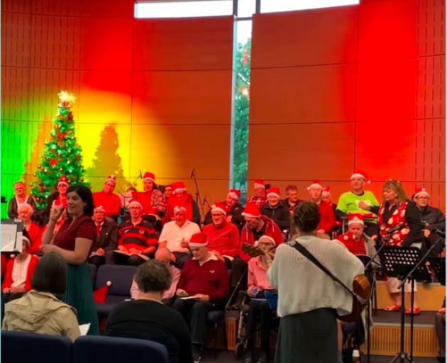Photo: Cantabrainers Therapeutic Choir Charitable Trust