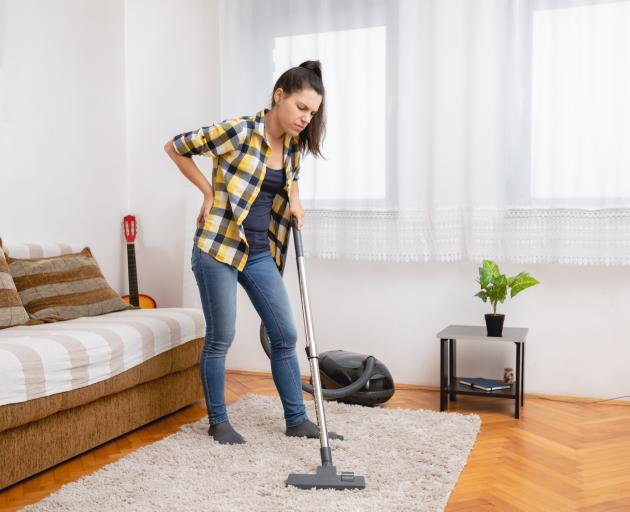 The ability to do household chores is a common question to monitor the state of a person's health...