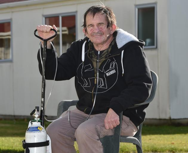 Emphysema patient Glenn Blundell is willing but unable to find the support necessary for a double...