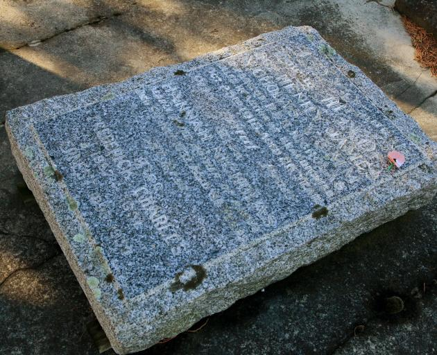 Ken Wright's bid to have the damaged family plot of Canterbury's first Victoria Cross recipient...