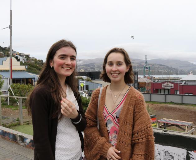 Charlotte McSweeney and Isobel Melhuish. Photo: Samantha Mythen