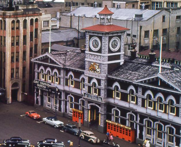 The Chief Post Office building during the 1970s. Photo: Supplied