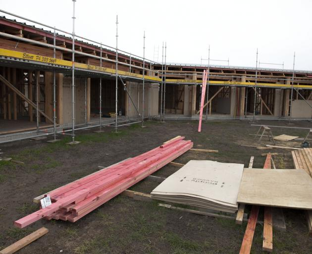 The building site in West Melton. Photo: Geoff Sloan