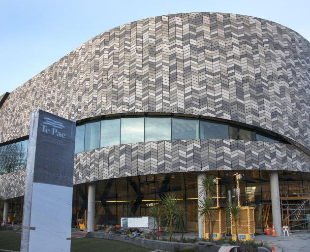 The Te Pae Christchurch Convention Centre. Photo: Geoff Sloan