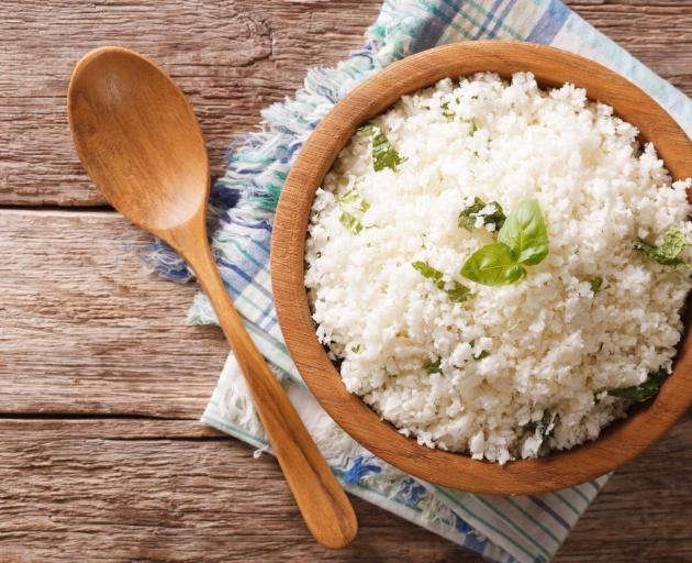 It never occurred to me that when rice is all you have to eat, it is delicious. PHOTO: GETTY IMAGES