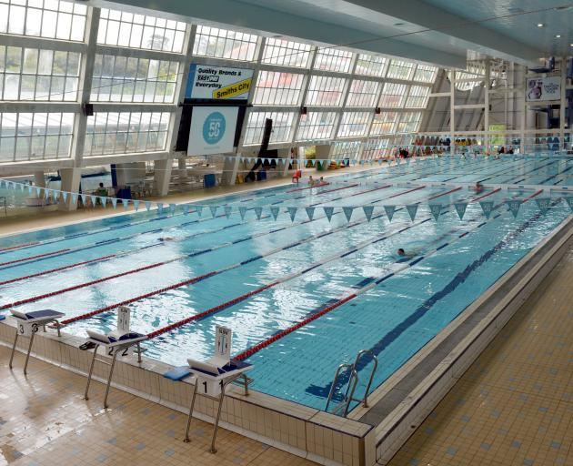 The main pool had to be closed for about an hour yesterday. Photo: ODT files