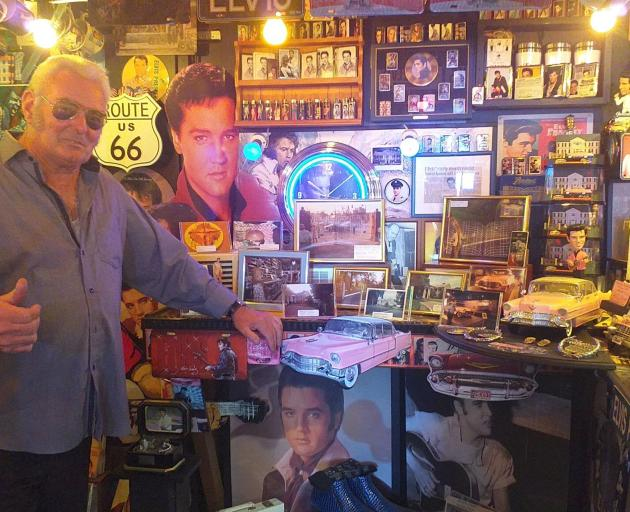 Kevin Walsey has been a collector of the King's records and memorabilia since his childhood. They...