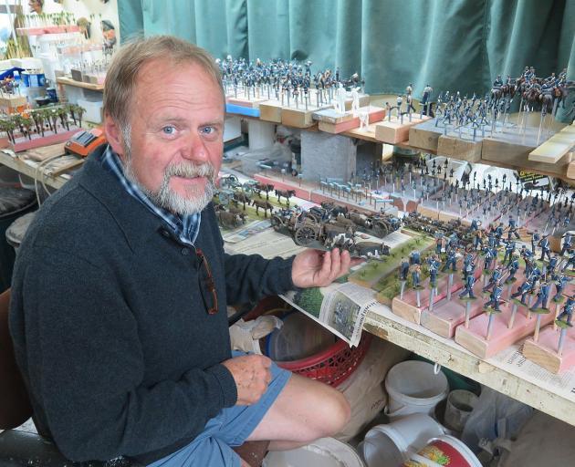 Tawhiti Museum owner and curator Nigel Ogle.