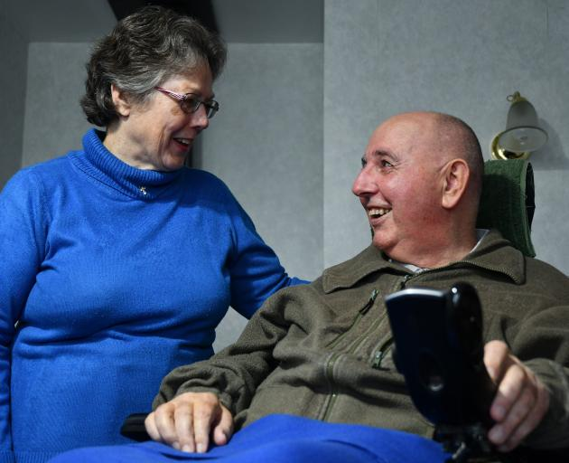 Invercargill couple Jan and Rob Smith are donating their hyperbaric chamber, which cost $33,000,...