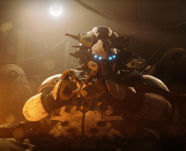 Spider in a scene from Destiny 2.