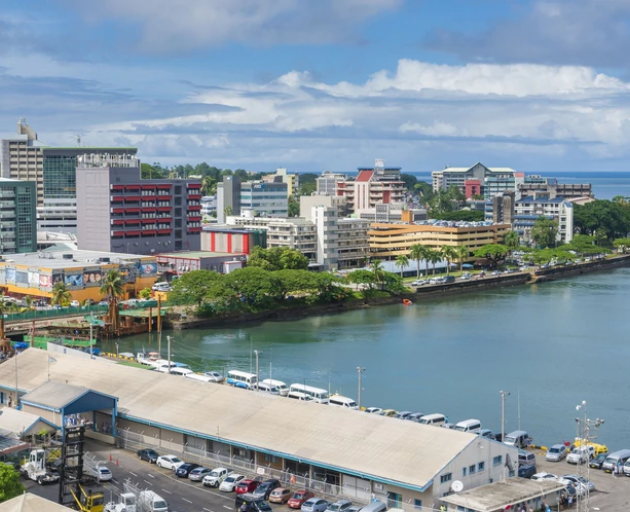 The four Kiwi yachtsman are being taken to Suva by the Fiji Navy. Photo: Getty
