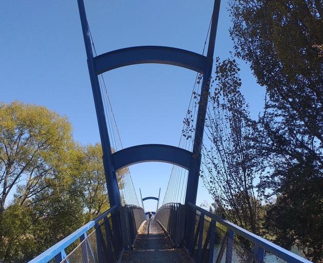 The Waimea suspension bridge. Photo: Mike Yardley