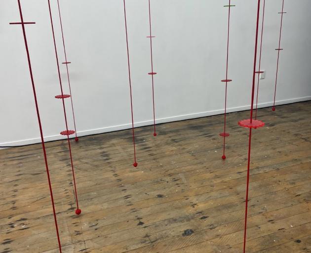 SPECIAL TIME (Ehara i te ti) by Turumeke Harrington, installation shot.