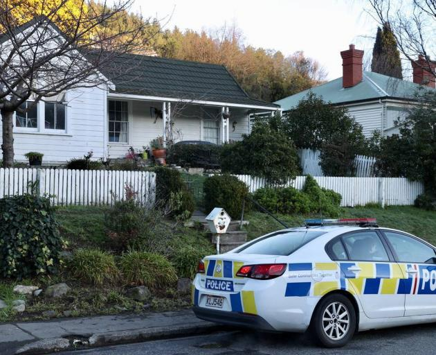 The woman was found at this Heathcote Valley property. Photo: George Heard